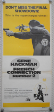 French Connection 2, Original Australian daybill, Gene Hackman, '75